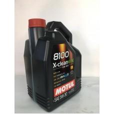 MOTOR YAĞI 5 30 5LT 8100 X-CLEAN EFE PARTİKÜLLÜ