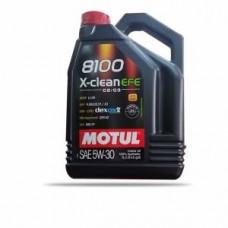 MOTOR YAĞI 5,30 4LT 8100 X-CLEAN EFE