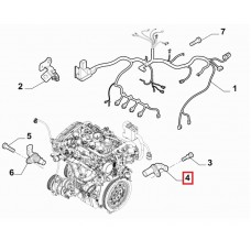 Üst Ölü Noktası Sensörü Fiat Linea - Alfa Romeo 159 1,6 JTD